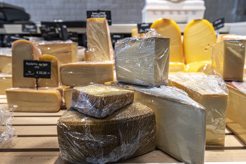 Boucherie Sprimont Gembloux Thorembais - 130 sortes de fromages
